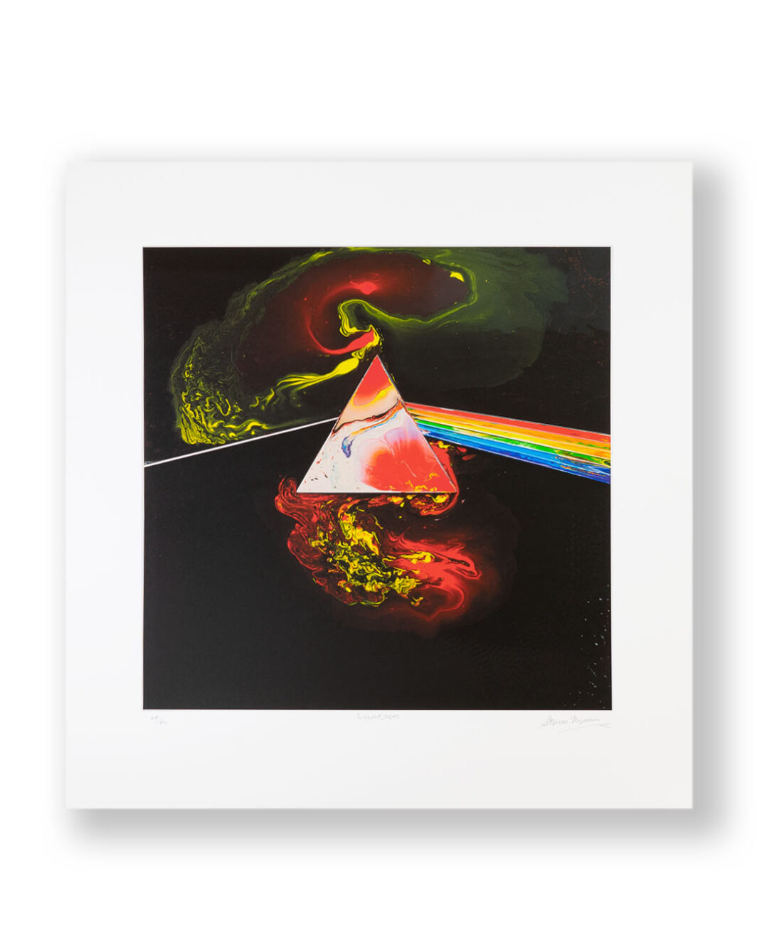 THE MOON SIGNED BY STORM THORGERSON