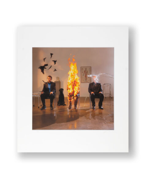 SIGNED PRINT BY ARTIST STORM THORGERSON