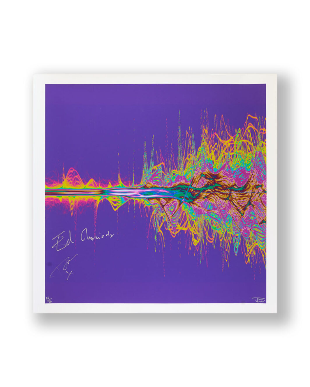 The Chemical Brothers signed print