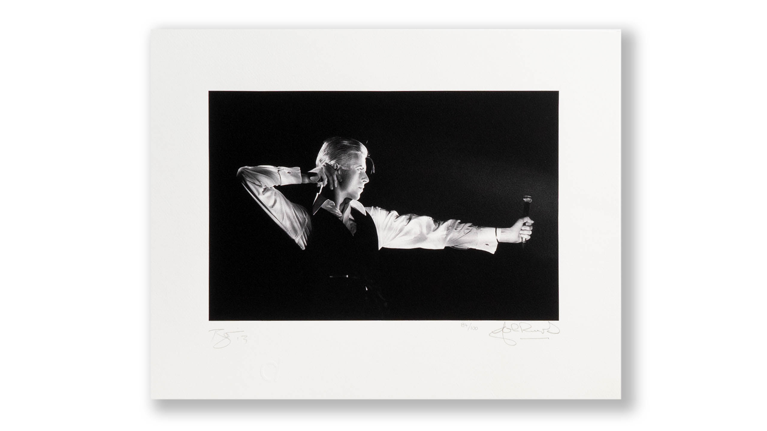 David Bowie Signed print