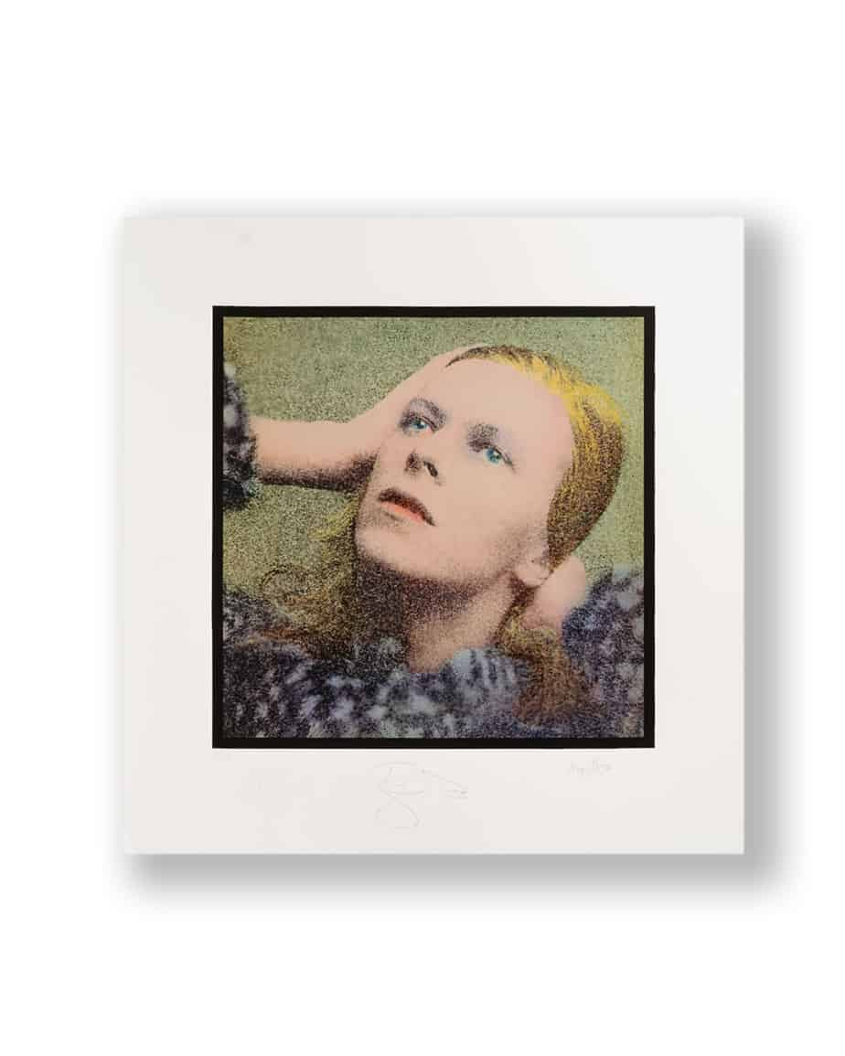 David bowie Hunky Dory signed print