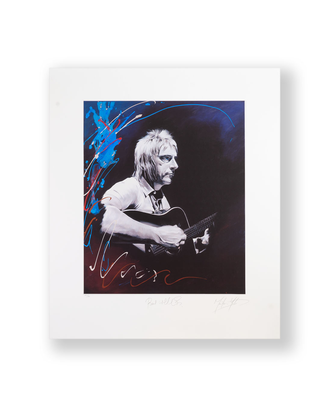 Print Signed by Paul Weller