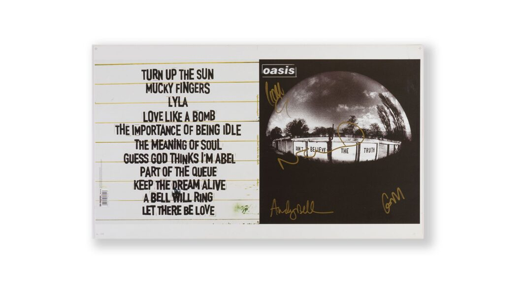 OASIS HAND SIGNED PRINT