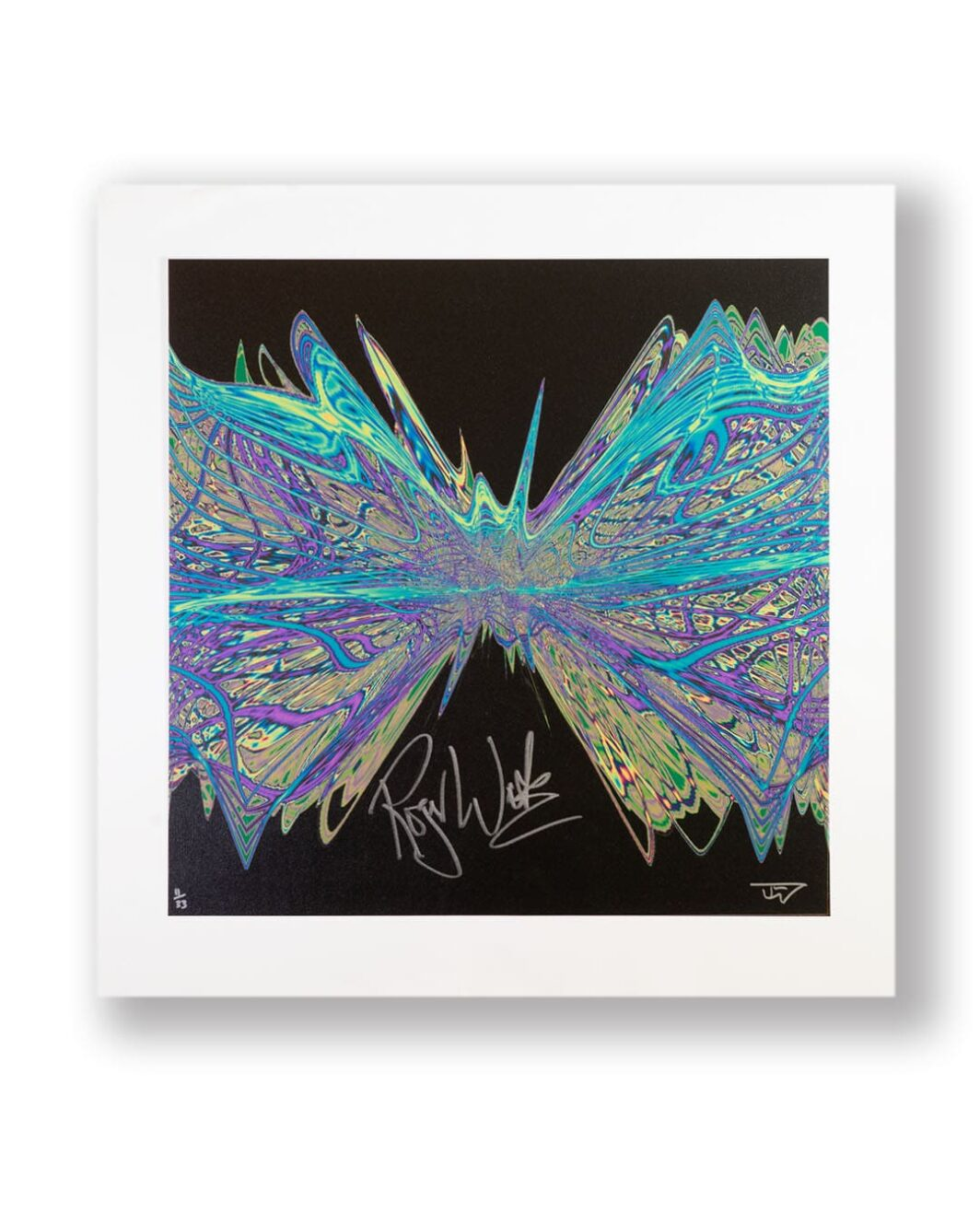 Pink floyd, Roger Waters signed print