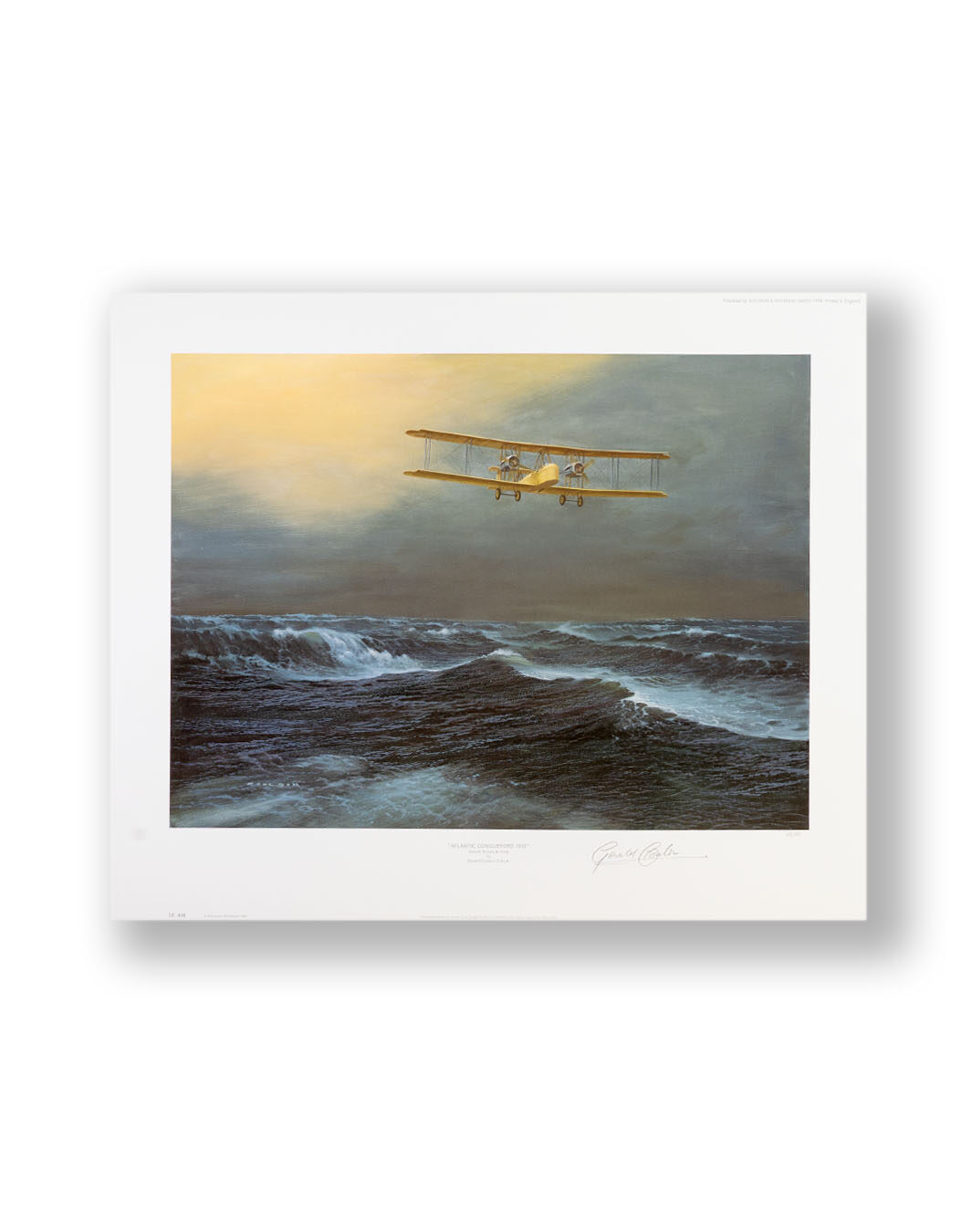 GERALD COULSON signed print