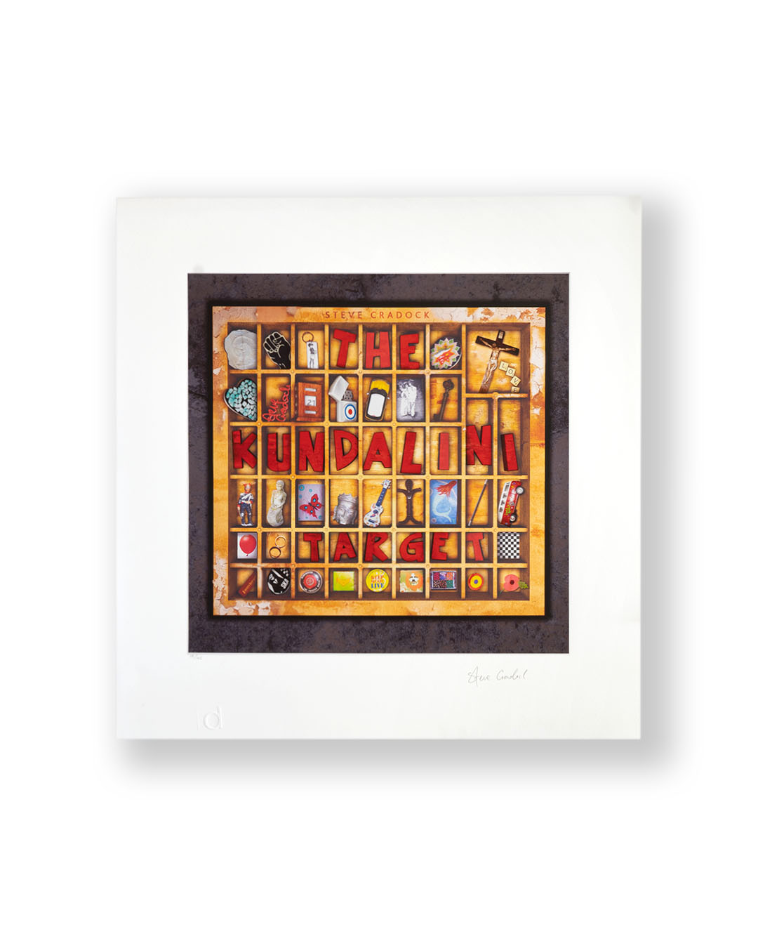 LIMITED EDITION PRINT SIGNED BY STEVE CRADOCK