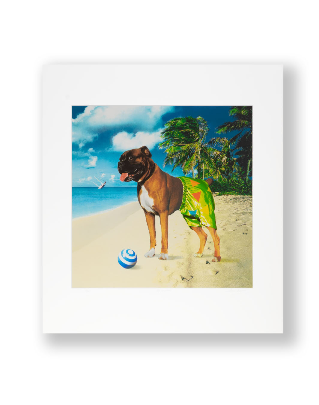 LIMITED EDITION PRINT SIGNED BY STORM THORGERSON