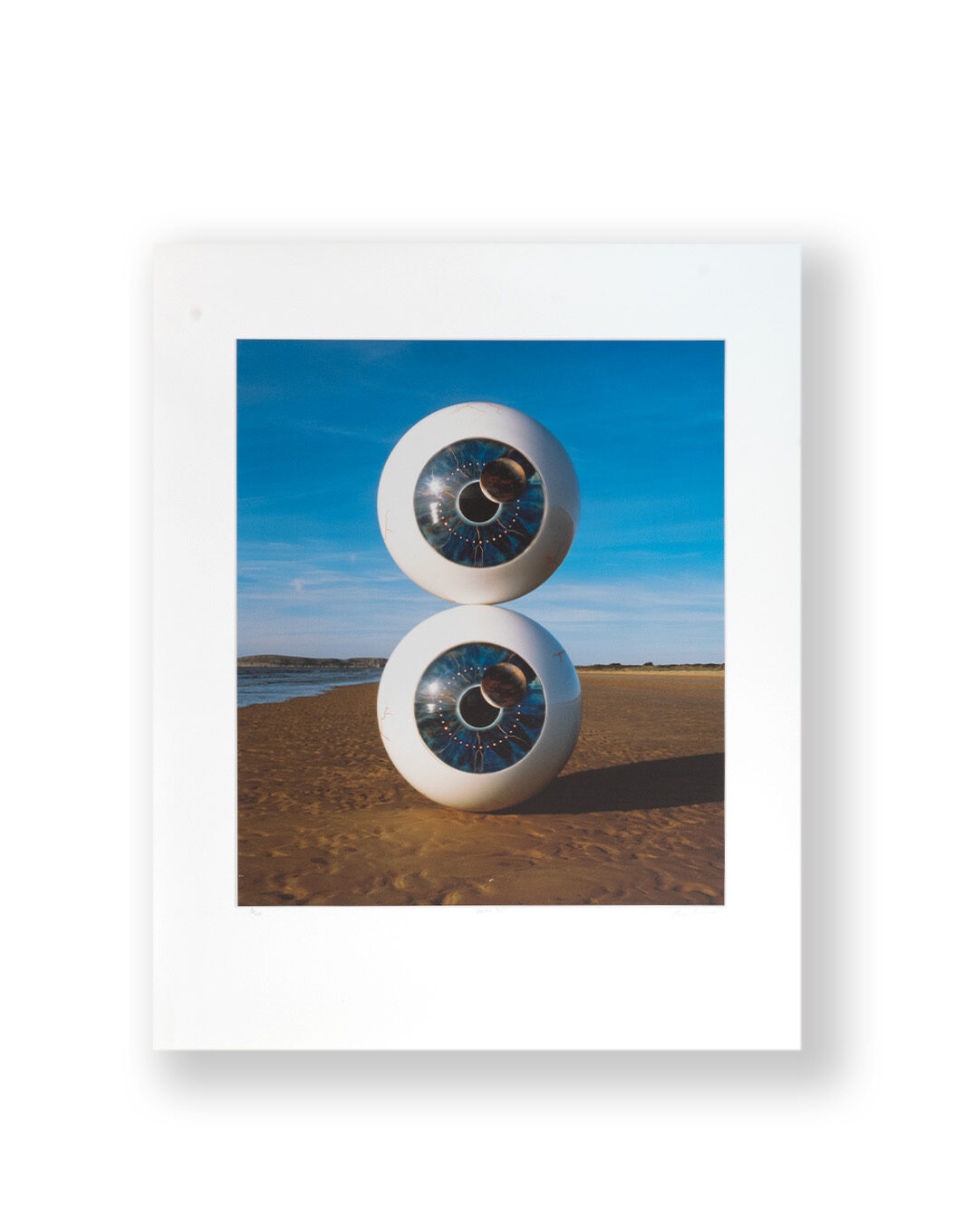 PINK FLOYD PULSE DVD COVER SIGNED BY STORM THORGERSON