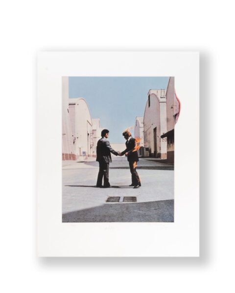 SIGNED BY ARTIST STORM THORGERSON AND NICK MASON