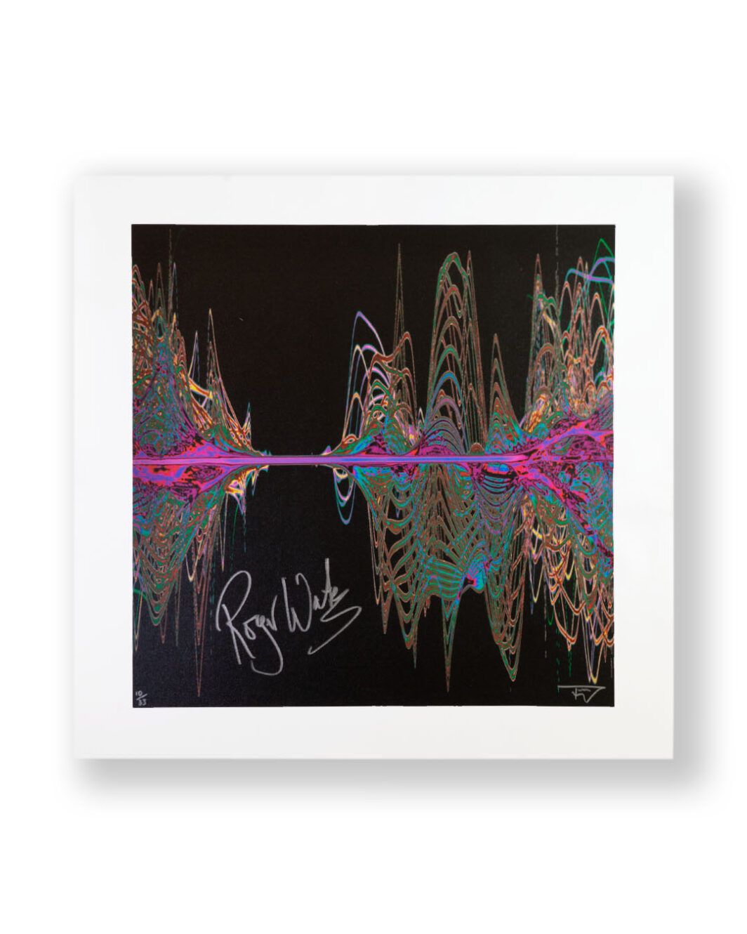 Pink floyd print signed by Roger Water