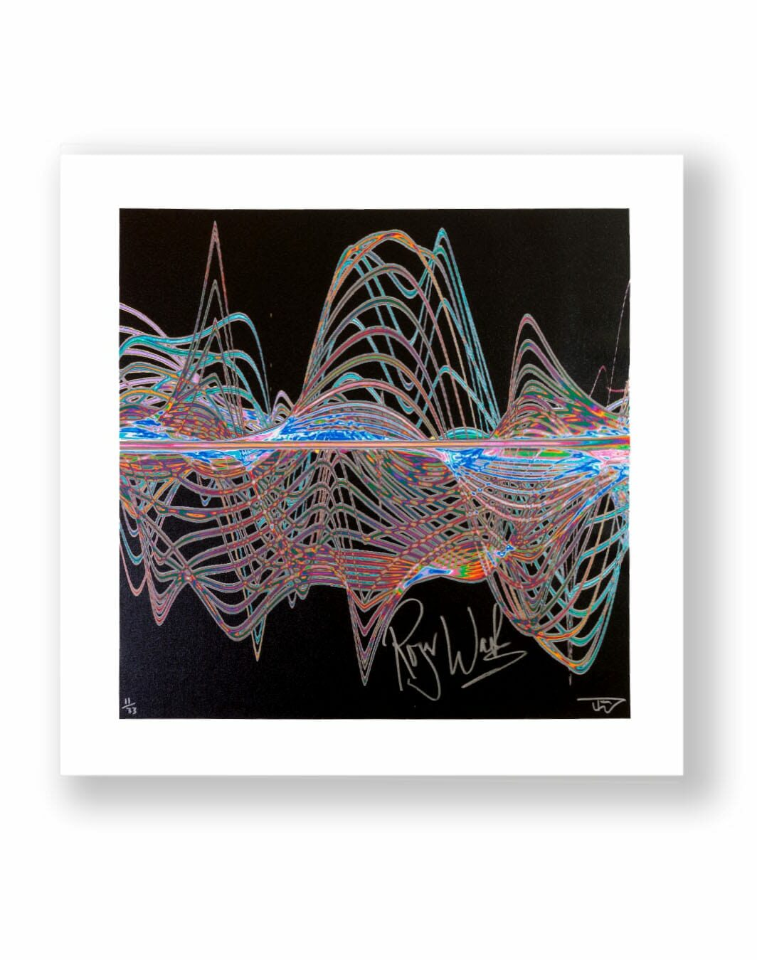 roger water signed print