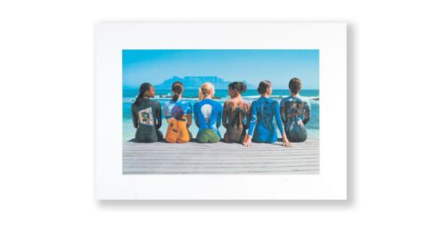 STORM THORGERSON BEACH SIGNED PRINT